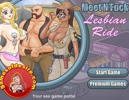 Lesbian ride game
