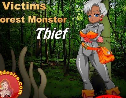 adult games victim of forest monster