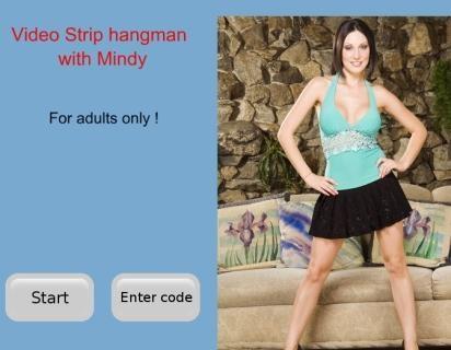 hangman sexy strip